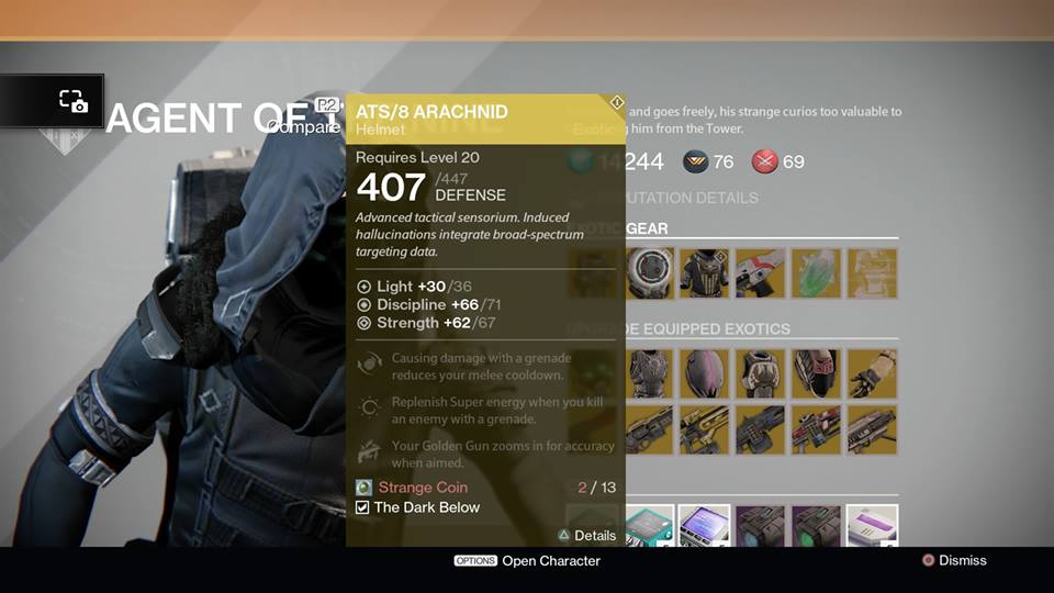 For this week xur agent of the nine can be found in the tower