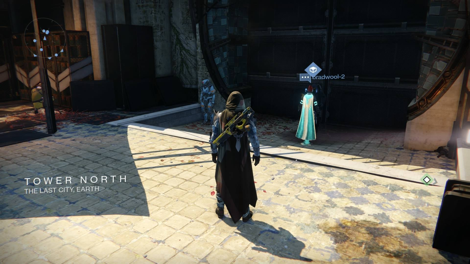 Xur – Agent of the Nine can be found in Tower North, just across from The Speaker.